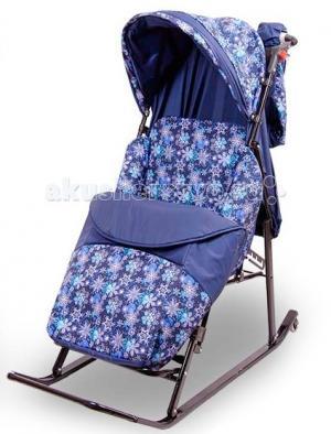 Санки-коляска  ЭМИ Komfort складные Rich Toys