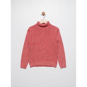Джемпер  для девочки SELA. Цвет: розовый