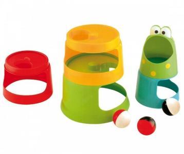 Развивающая игрушка  Ведерко-пирамидка 8 предметов Gowi