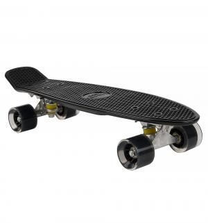 Скейтборд  S-2206E, цвет: черный Leader Kids