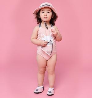 Купальник , цвет: розовый Happy Baby