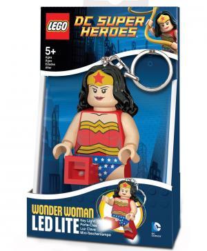 Брелок-фонарик для ключей Super Heroes - Wonder woman Bakugan