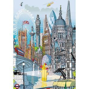 Пазл  Лондон, 200 элементов Educa