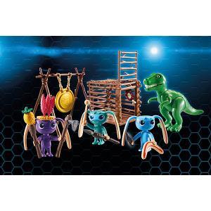 Конструктор Playmobil Инопланетный воин с Т-рекс ловушкой PLAYMOBIL®