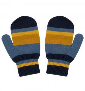Перчатки Stig, цвет: синий/желтый Reima