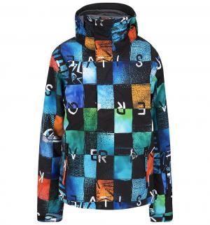 Куртка  Mission Printed, цвет: синий Quiksilver