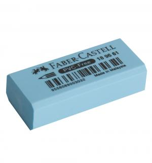 Ластик  флоуресцентный голубой Faber-Castell