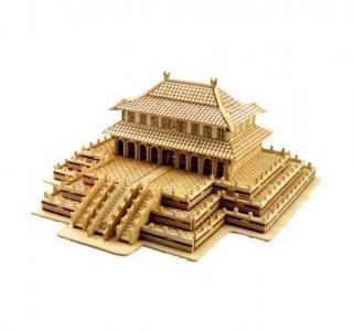 Сборная деревянная модель  Зал Золотого трона Wooden Toys