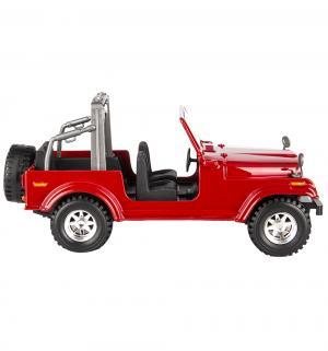 Машинка  Jeep Wrangler цвет: красный 17 см Bburago
