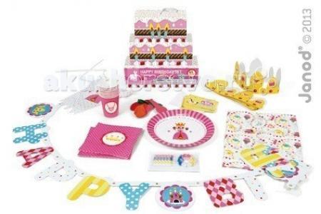 Набор для детского праздника Принцесса Janod