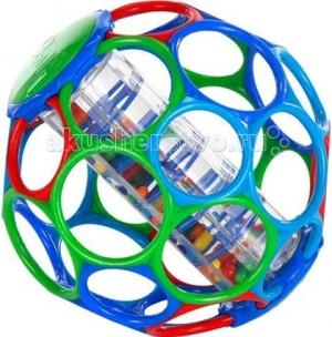 Развивающая игрушка  Мячик с погремушкой 81030 Oball