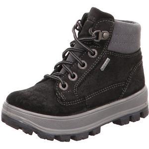 Утепленные ботинки Superfit. Цвет: черный