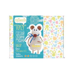 Набор для валяния Toyzy Крыс. Цвет: разноцветный