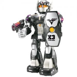 Игрушка  Робот-воин черный Hap-p-Kid