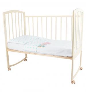 Комплект постельного белья , цвет: бирюзовый 3 предмета Leader Kids