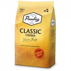 Кофе Classic Crema зерно 1 кг Paulig