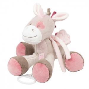 Мягкая игрушка  Musical Soft toy Nina Jade & Lili Единорог музыкальная 35 см Nattou