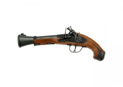 Игрушечное оружие Пистолет Blunderbuss Pirat Schrodel