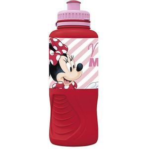 Бутылка  Минни Маус, 400 мл Stor. Цвет: красный