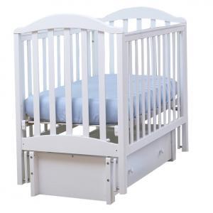 Кровать-качалка Кубань Лютик, цвет: белый КубаньЛесстрой