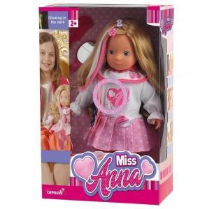 Кукла интерактивная Мисс Анна 40 см Dimian