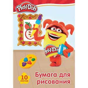 Бумага для рисования Академия Групп Play-Doh, 10 листов