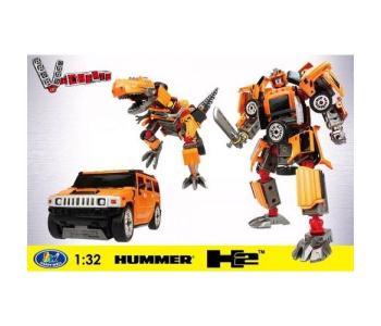 Робот-трансформер Hummer H2 1:32 Happy Well