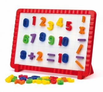 Математическая магнитная доска (48 элементов) Quercetti
