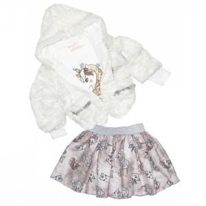 Комплект для девочки жакет, лонгслив и юбка 3274 Baby Rose