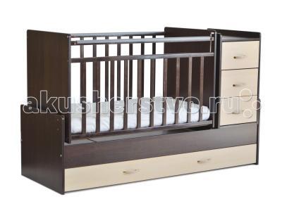 Кроватка-трансформер  СКВ-5 53403 маятник СКВ Компани