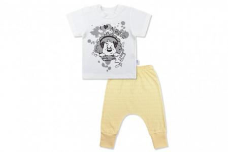 Комплект Ажурное лето (футболка и штанишки) Лео