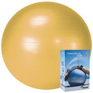 Гимнастический мяч  Стандарт 55 см, оранжевый Palmon. Цвет: оранжевый