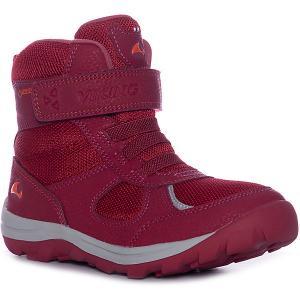 Утепленные Ботинки Hamar II Jr VIKING. Цвет: красный