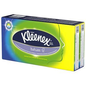 Носовые платочки  Balsam, упаковка 8 штук Kleenex