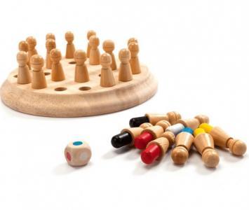 Шахматы детские для тренировки памяти Мнемоники Bradex