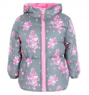 Куртка , цвет: серый/розовый Pink platinum by Broadway kids