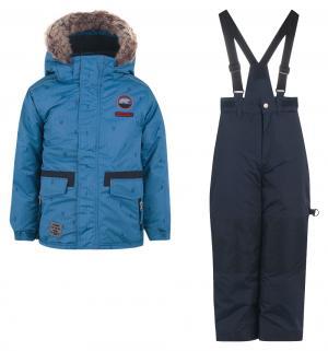 Комплект куртка/полукомбинезон , цвет: синий Peluchi&Tartine