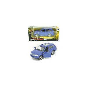 Инерционная машинка  Toys Драйв Collection Городской кроссовер, 1:34, синяя Yako. Цвет: синий