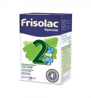 Заменитель молока  Фрисолак 2 6-12 месяцев, 700 г Friso