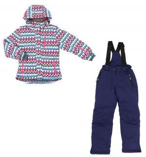 Комплект куртка/полукомбинезон , цвет: фиолетовый Kalborn