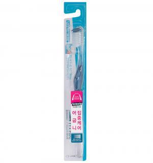 Зубная щетка  Dentor System стандартная, цвет: синий CJ Lion