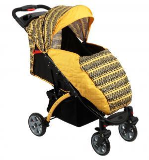 Прогулочная коляска  Tetra, цвет: желтый BabyHit