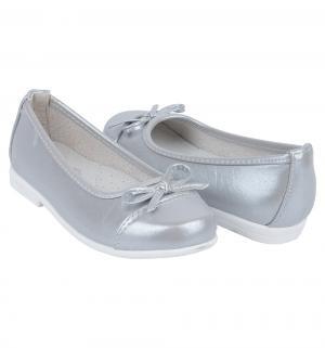 Туфли , цвет: серебряный Santa&Barbara