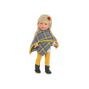 Кукла  Зима Этно Бохо Паулина блондинка, 33 см Vestida de Azul. Цвет: разноцветный