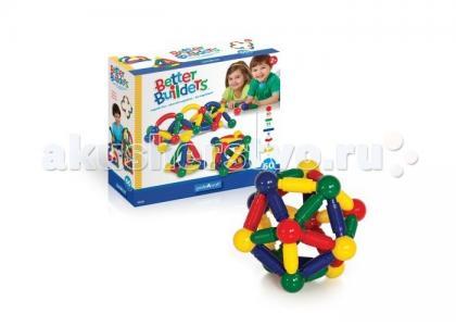 Конструктор  магнитный для малышей Better Builders 60 деталей Guidecraft