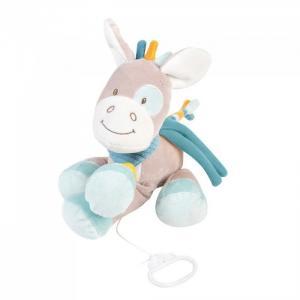 Мягкая игрушка  Musical Soft toy Tim & Tiloo Лошадка музыкальная 26 см Nattou