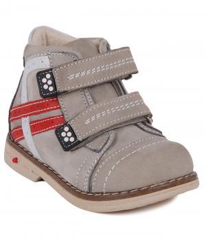 Ботинки Orsetto. Цвет: серый