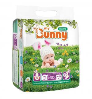 Подгузники  Classic (4-9 кг) шт. My Bunny