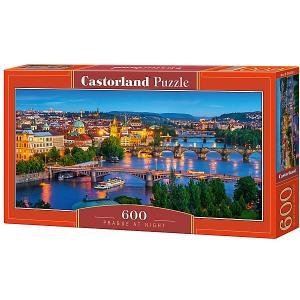 Пазл  Прага ночью 600 деталей Castorland