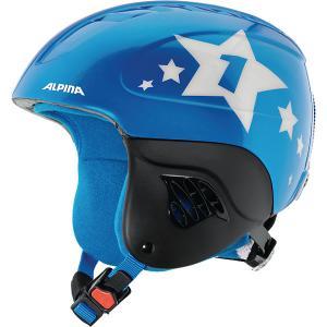 Зимний шлем  CARAT blue-star Alpina. Цвет: темно-синий